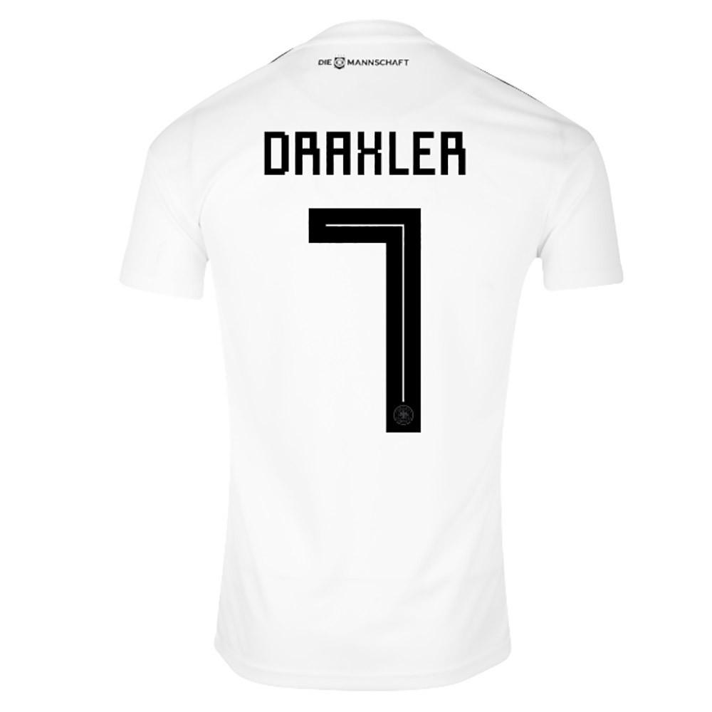 MAILLOT DRAXLER. ALLEMAGNE DOMICILE 2018-2019