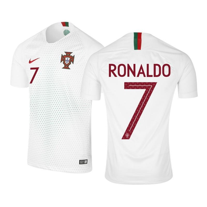 MAILLOT RONALDO. PORTUGAL EXTERIEUR 2018/