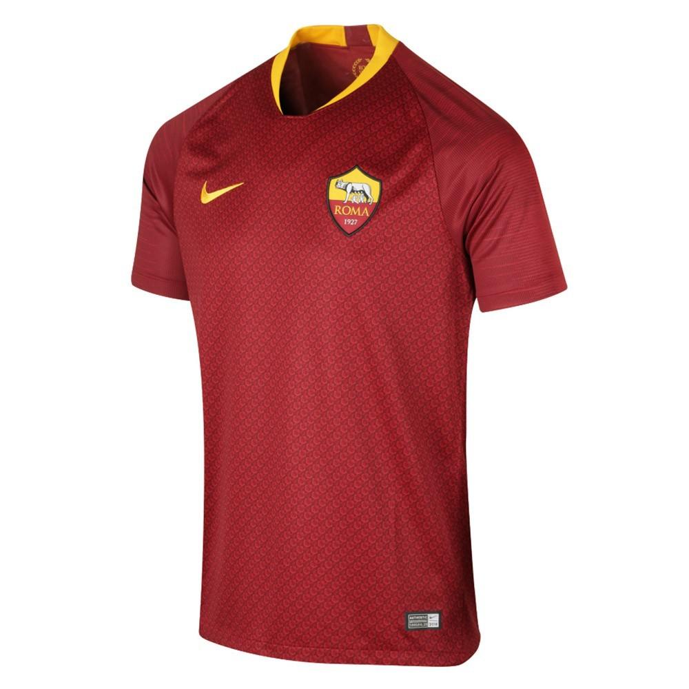 PACK AS ROMA DOMICILE. ENSEMBLE ADULTE MAILLOT ET SHORT 2018-2019