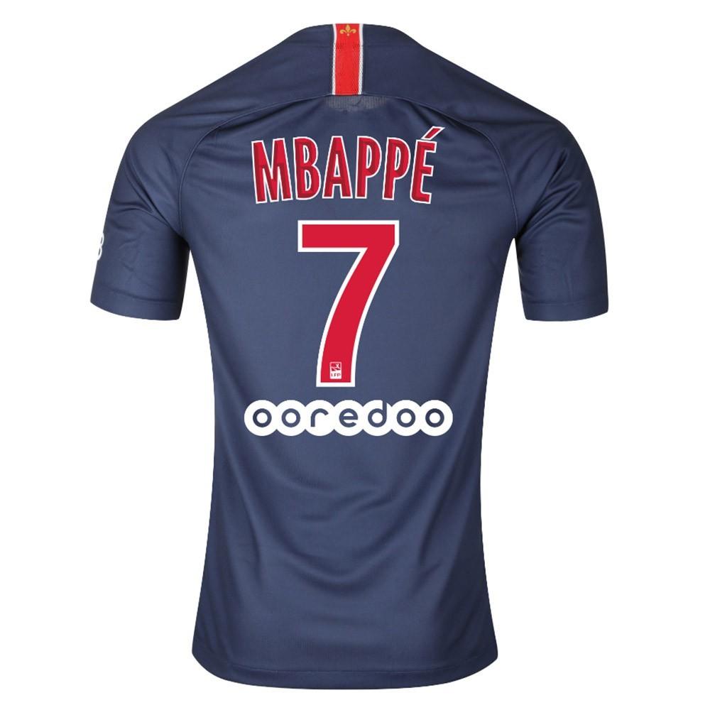 PACK MBAPPE. PSG DOMICILE. ENSEMBLE ADULTE MAILLOT ET SHORT 2018-2019