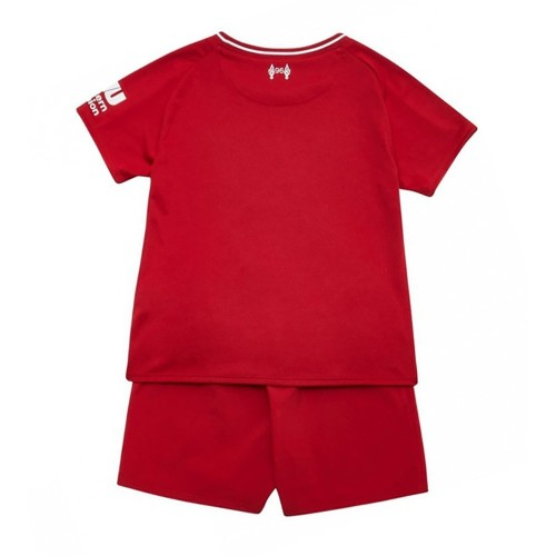 PACK JUNIOR LIVERPOOL DOMICILE. ENSEMBLE MAILLOT ET SHORT 2018-2019