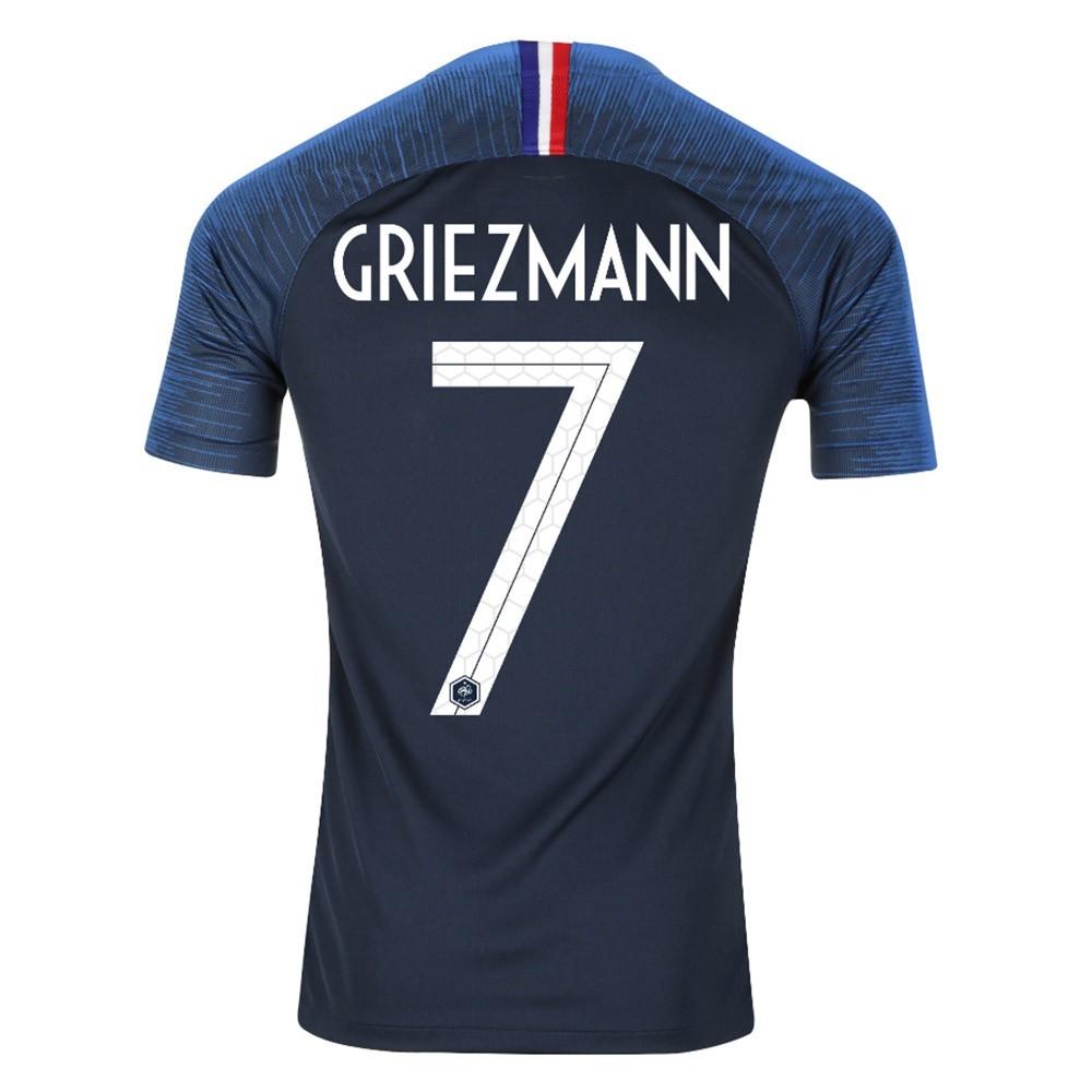 MAILLOT FRANCE GRIEZMANN DOMICILE 2 ETOILES 2018-2019