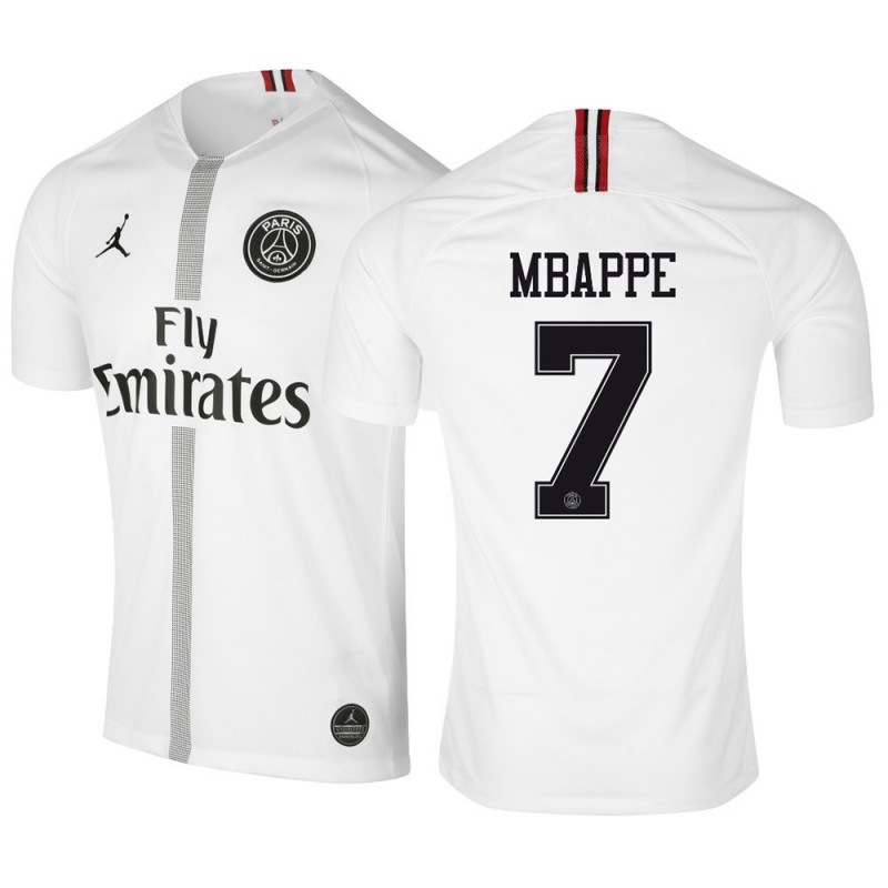 vast selection first look hot product MAILLOT PSG MBAPPE PSG X JORDAN BLANC 2018-2019