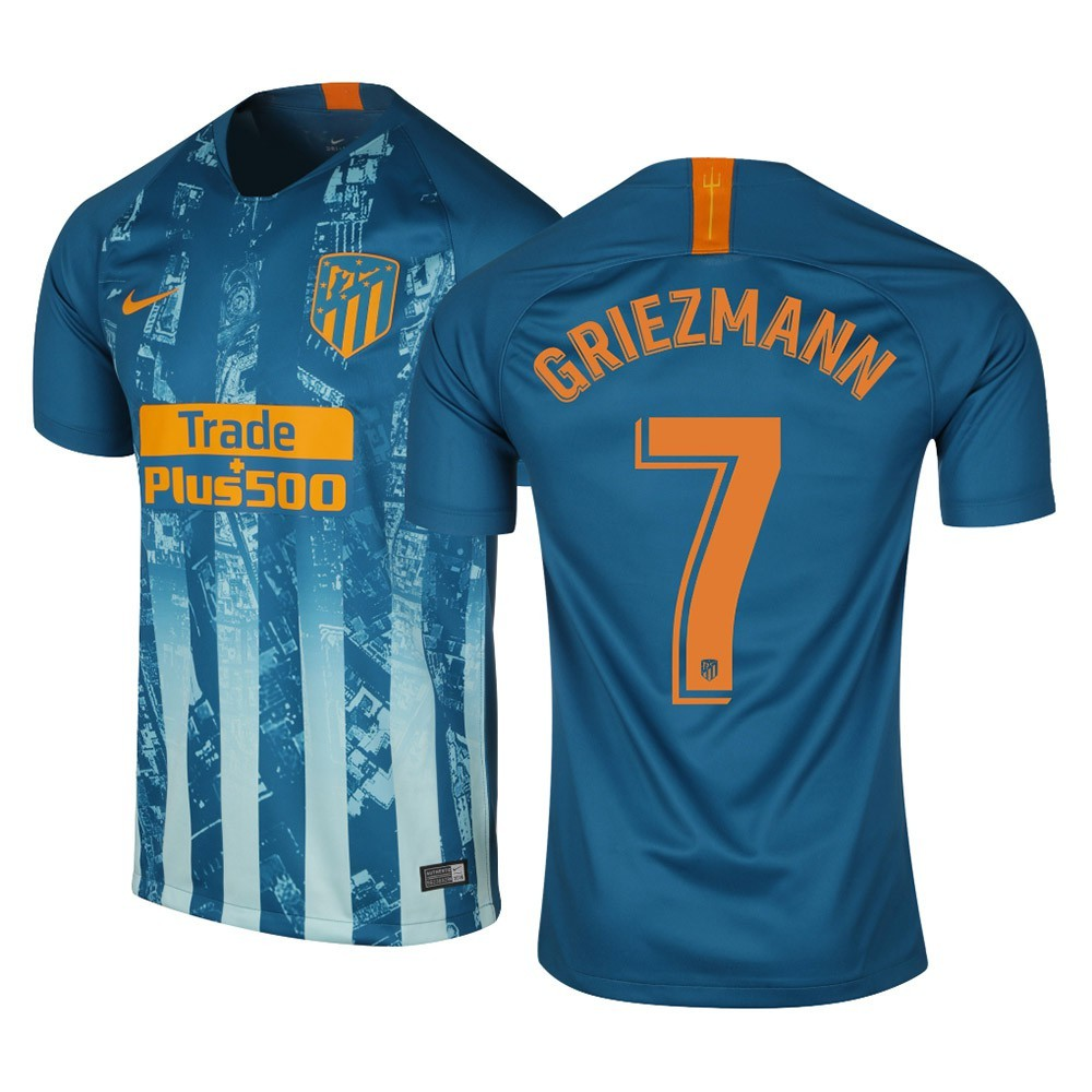 MAILLOT ATLETICO MADRID GRIEZMANN THIRD 2018-2019