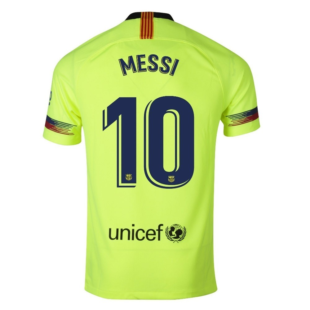 MAILLOT FC BARCELONE MESSI EXTERIEUR 2018-2019