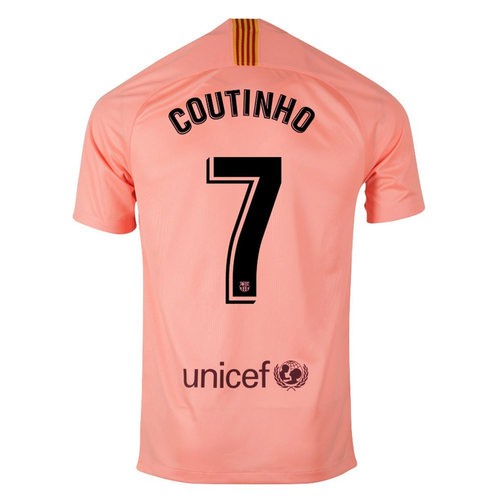 MAILLOT FC BARCELONE COUTINHO THIRD 2018-2019