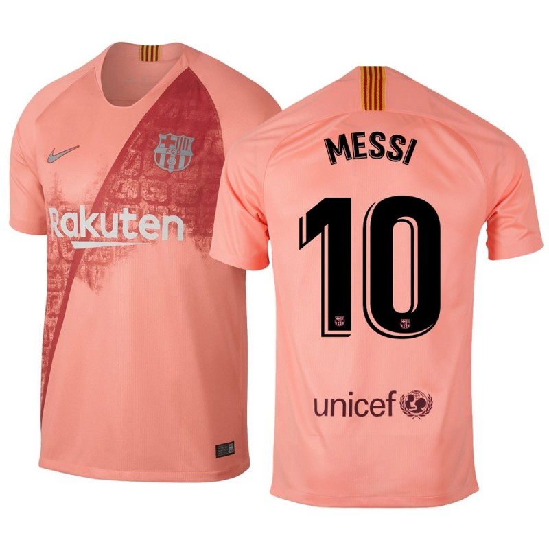 MAILLOT FC BARCELONE MESSI THIRD 2018-2019