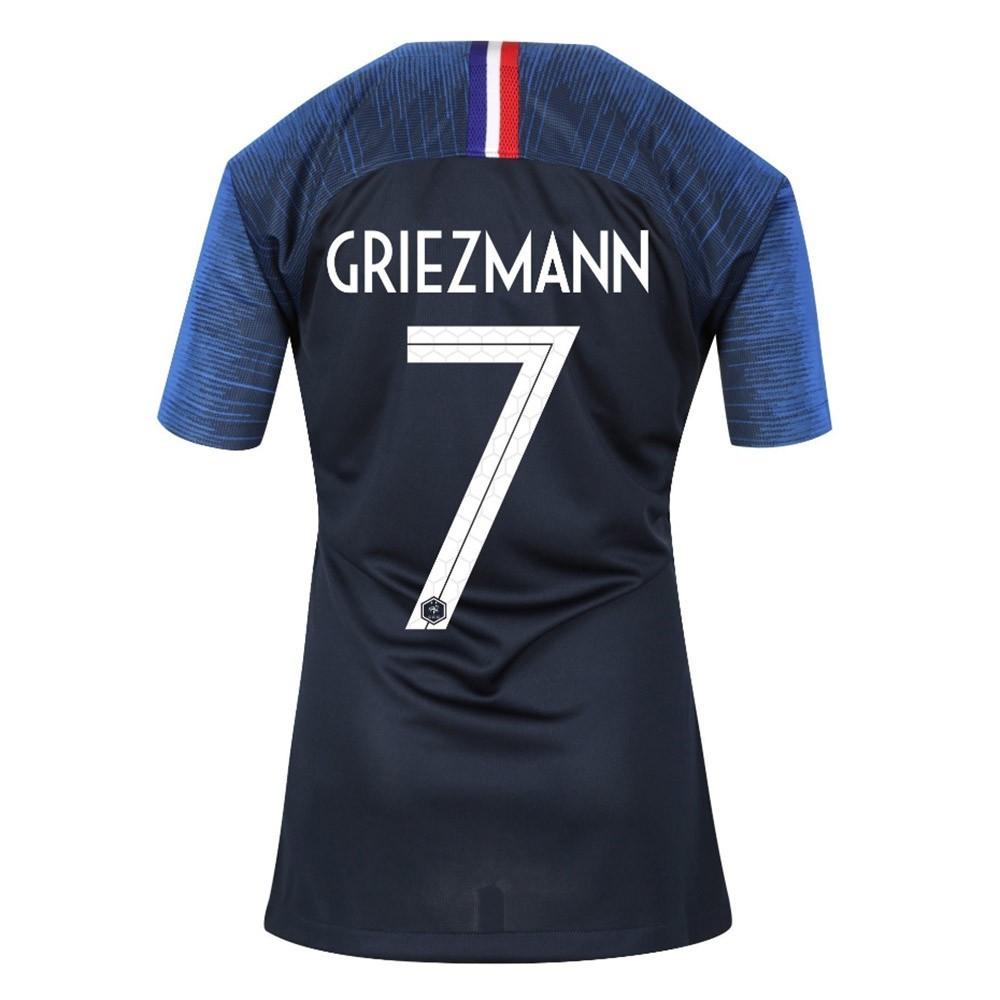 MAILLOT FEMME FRANCE GRIEZMANN DOMICILE 2 ETOILES 2018-2019