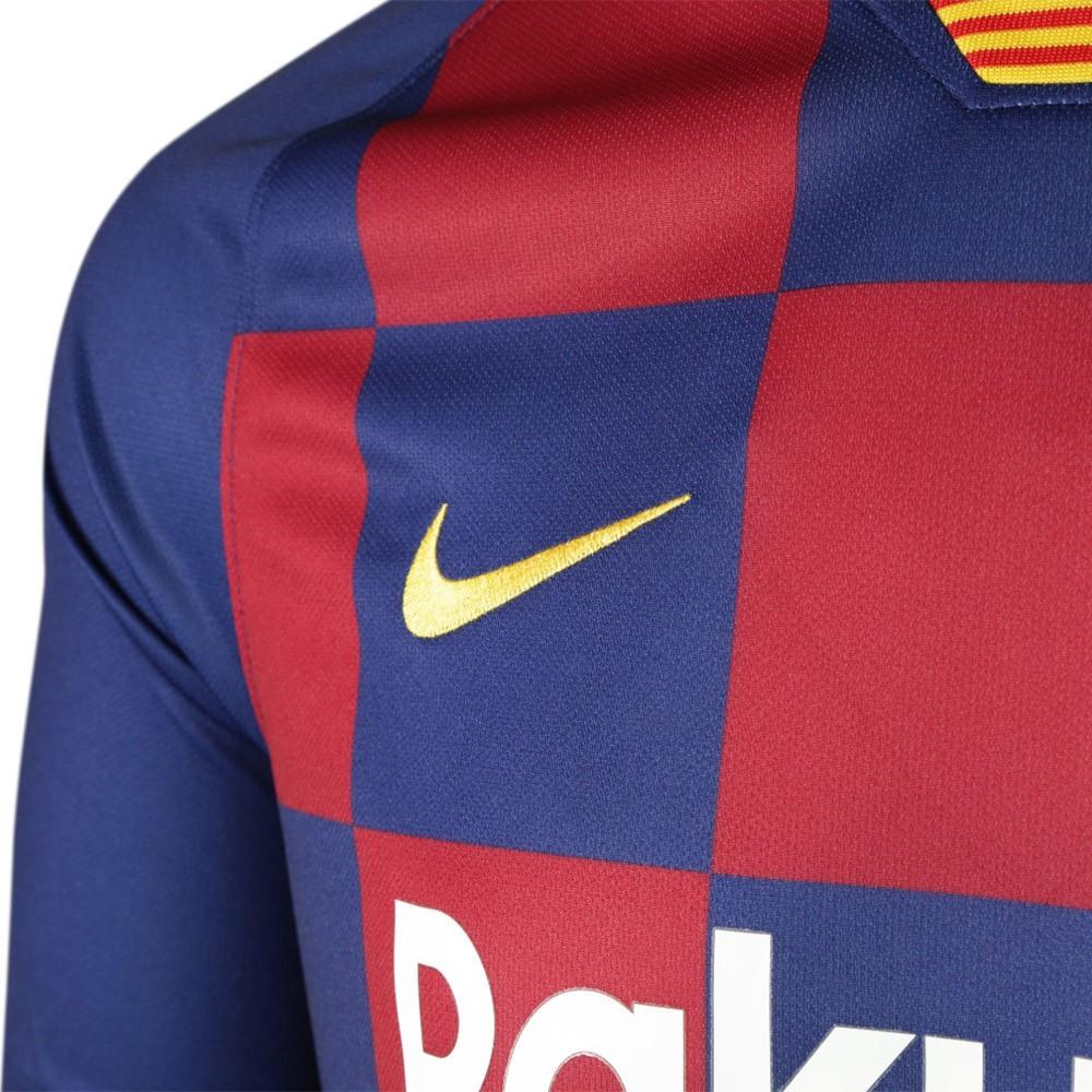 PACK FC BARCELONE DOMICILE. ENSEMBLE ADULTE MAILLOT ET SHORT 2019-2020