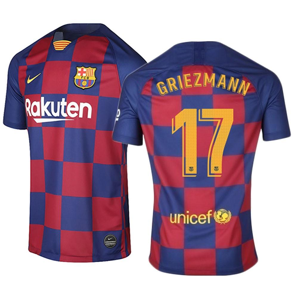 Maillot Griezmann Fc Barcelone Domicile 2019 2020