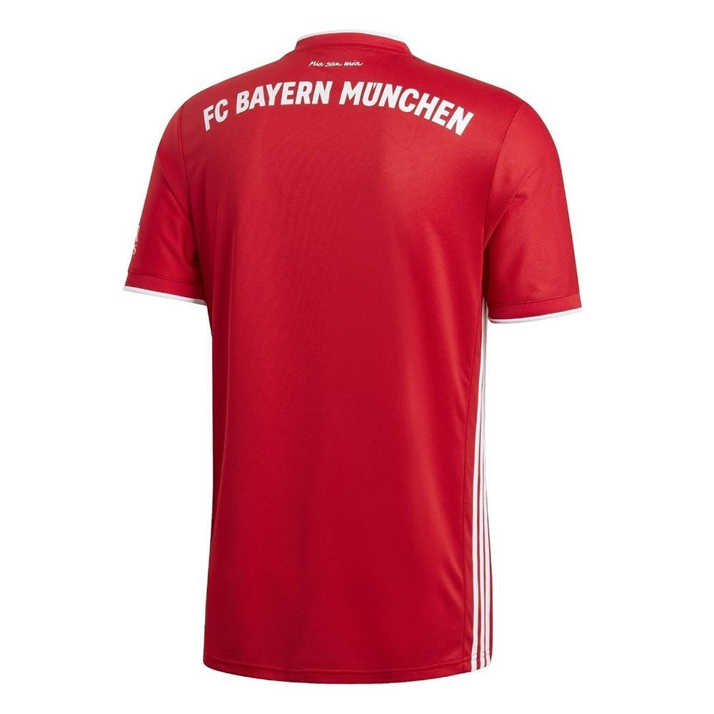 PACK BAYERN MUNICH DOMICILE. ENSEMBLE ADULTE MAILLOT ET SHORT 2020-2021