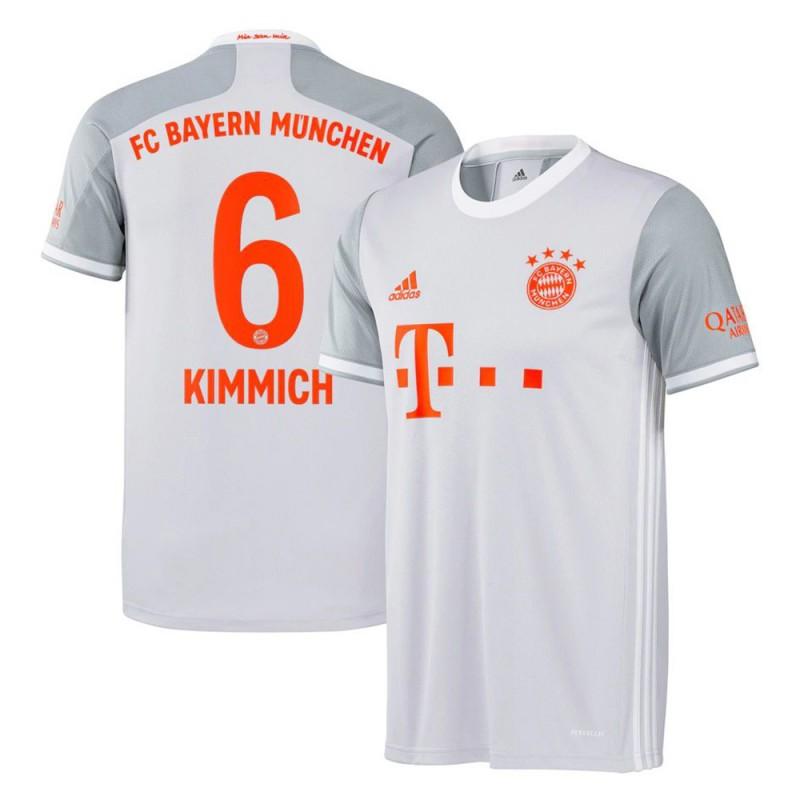 MAILLOT BAYERN MUNICH KIMMICH EXTERIEUR 2020-2021