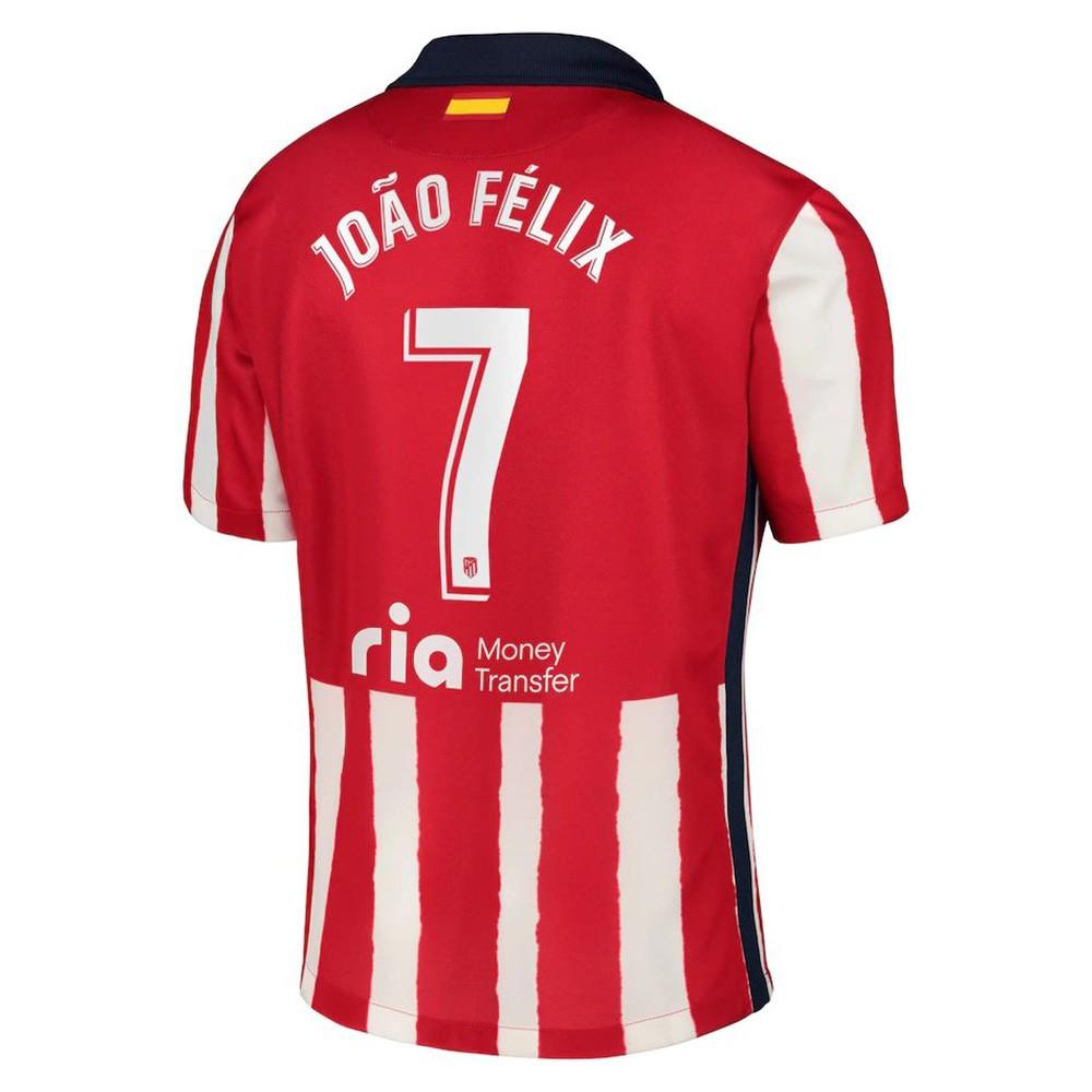 MAILLOT ATLETICO MADRID JOAO FELIX DOMICILE 2020-2021