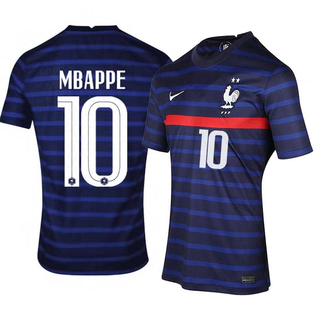 MAILLOT FRANCE MBAPPE DOMICILE 2020-2021