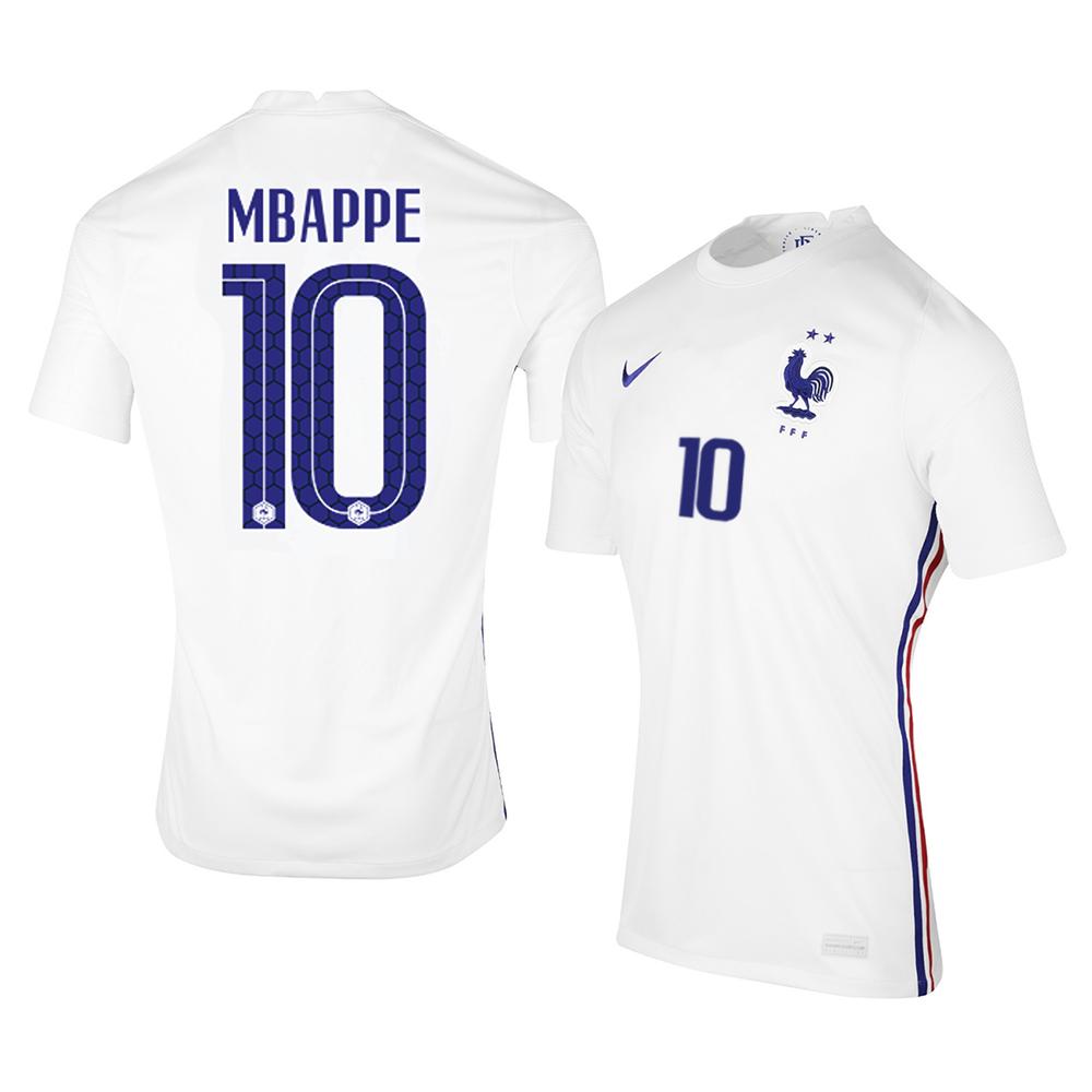 MAILLOT FRANCE MBAPPE EXTERIEUR 2020-2021